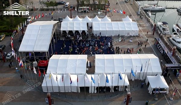 tent for exposition - marquee for social events - large exhibition tents - tent canopy for exposition - musical festival pavilion - canvas for fari carnival (21)