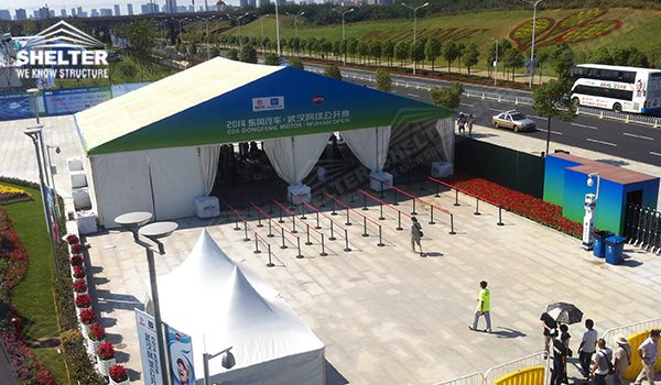 2014 WTA Wuhan Opan - marquee for social events - large exhibition tents - tent canopy for exposition - musical festival pavilion - canvas for fari carnival (2vsd3)