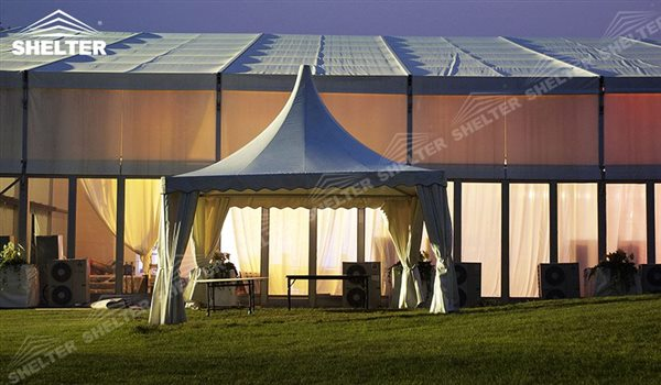 Pagoda Canopy Square Marquee For Party Reception Small Ceremony