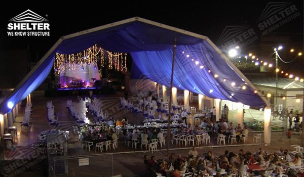 polygon marquee - tents polugon for social events - 6 sides poligon pavilion - 8 sides poligon canvas - 12 sides polygonal shed - Shelter poligonal canopy for sale (4045)