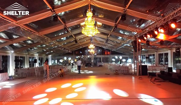 outdoor Party Tent - wedding marquee - pavilion for luxury wedding ceremony - canopy for outdoor party - wedding on seaside - in hotel - Shelter aluminum structures for sale (60)