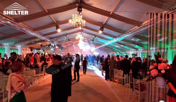 outdoor Party Tent - wedding marquee - pavilion for luxury wedding ceremony - canopy for outdoor party - wedding on seaside - in hotel - Shelter aluminum structures for sale (61)