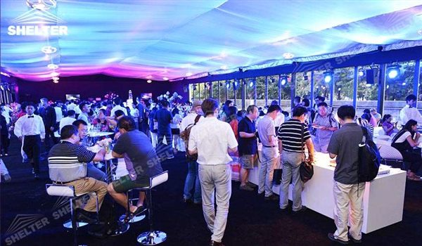 Party Tents for Sale - custom design marquee - bespoke tent for promotion - custom made canopy - canvas for brand promotion - pavilion for social events (2)