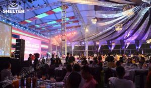Marquees for Sale - wedding marquee - pavilion for luxury wedding ceremony - canopy for outdoor party - wedding on seaside - in hotel - Shelter aluminum structures for sale (149)
