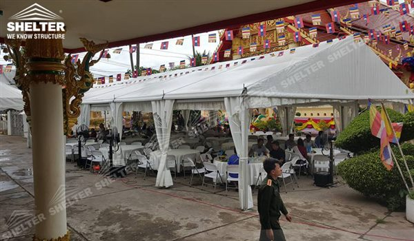 small marquees - wedding marquee - pavilion for luxury wedding ceremony - canopy for outdoor party - wedding on seaside - in hotel - Shelter aluminum structures for sale (267)