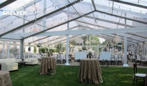 wedding tents - wedding marquee - pavilion for luxury wedding ceremony - canopy for outdoor party - wedding on seaside - in hotel - Shelter aluminum structures for sale (270)
