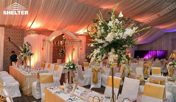 Wedding Marquees For Sale - wedding marquee - pavilion for luxury wedding ceremony - canopy for outdoor party - wedding on seaside - in hotel - Shelter aluminum structures for sale (7)