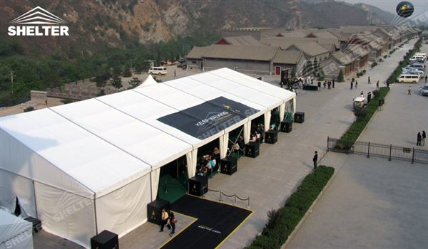 custom tent - marquee for large scale exhibitions - tent canopy for expositions - trade show tents - canvas for fair - Shelter aluminum structures for sale (24)