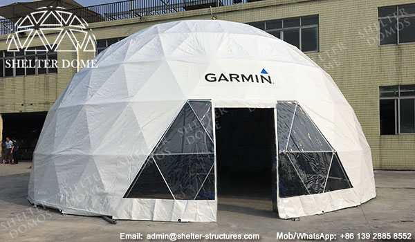 Half Clear Geodesic Dome Marquees 20m For Business Promotions