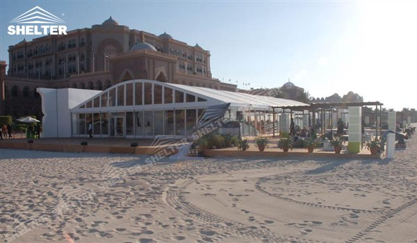 arch tent - wedding marquee - pavilion for luxury wedding ceremony - canopy for outdoor party - wedding on seaside - in hotel - Shelter aluminum structures for sale (1)