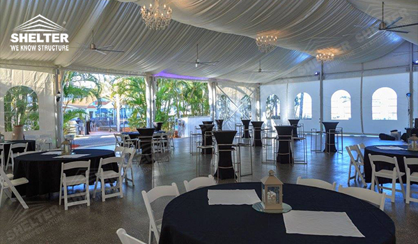small wedding marquee - wedding marquee - pavilion for luxury wedding ceremony - canopy for outdoor party - wedding on seaside - in hotel - Shelter aluminum structures for sale (415454)