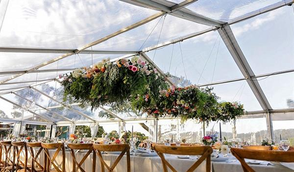 Clear Top Wedding Marquee With High Peak For Sale In Ohio