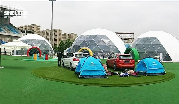 large dome tents - dome tent - geodesic dome - wedding dome - geodesic dome tent - sports dome - igloo tents - geo dome for promotion - Shelter aluminum marquee for sale (128)
