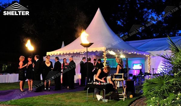 High peak Gazebo canopy - wedding reception - destination wedding - hotel wedding ceremony - Shelter aluminum structures for slae (31)