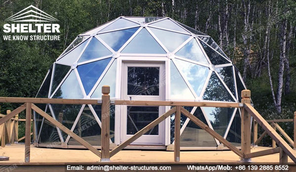 6m Glass Dome House Geo Domes 8m Geodesic Dome Shelter Dome