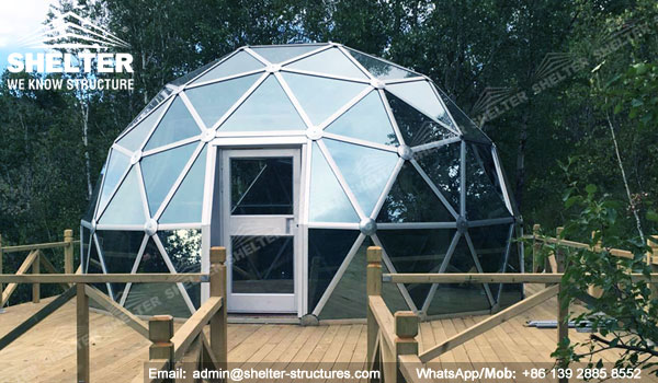 Dia6m 10m Glass Dome House For Sale