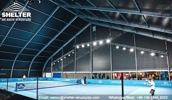 Fabric Structure For Indoor Tennis Court Aluminum Tent