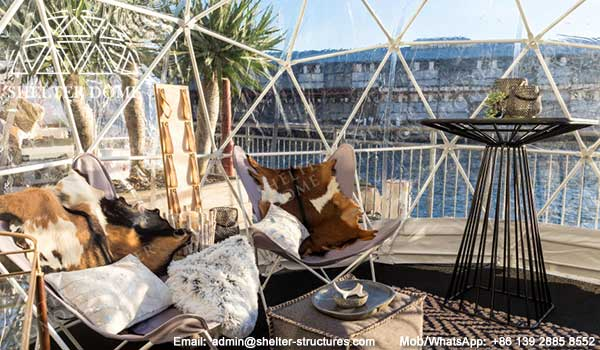 igloo bars---pop-up-domae-cafe---pop-up-themed-igloo-dome-coffee-shop-by-the-restaurant-or-hotel---Pier-one-hotel-by-the-Sydney-harbour---patio-dome-seats-0002a