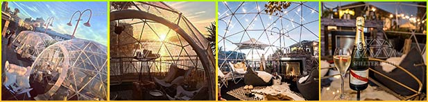igloo bars---pop-up-dome-cafe---pop-up-themed-igloo-dome-coffee-shop-by-the-restaurant-or-hotel---Pier-one-hotel-by-the-Sydney-harbour---patio-dome-seats002