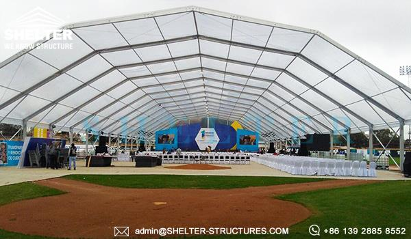 large event tents - temporary commercial company event marquee - event tent building for sale - cheap clear event tents marquees (3)_Jc