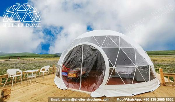 Eco Living Dome - 6m Glamping Dome - Ecodome for Eco-resort - Resort Dome - Shelter Dome (6)