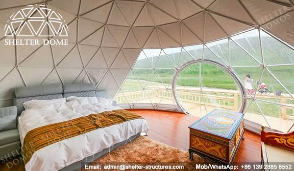 Eco Living Dome - 6m Glamping Dome - Ecodome for Eco-resort - Resort Dome - Shelter Dome (8)