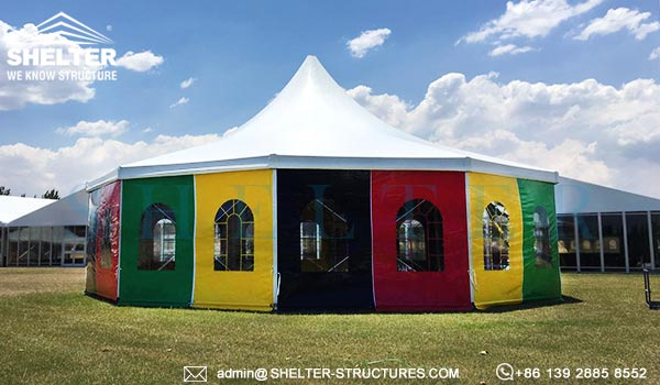 big top circus tent for sale - large modern circus marquee - heavy duty clearspan aluminum fabric frame tent (2) 2