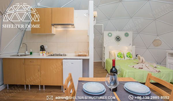 ecological dome-eco-living dome tent for sale - geodesic dome igloo for glamping eco-resort (12)