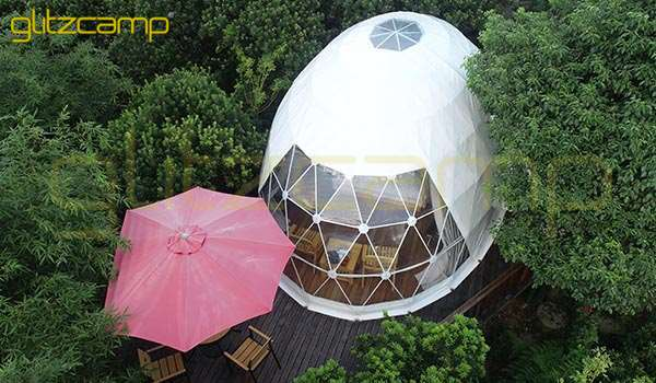 glamping oval domes- luxury camping resort project-dome igloo-safari lodge tents (2)