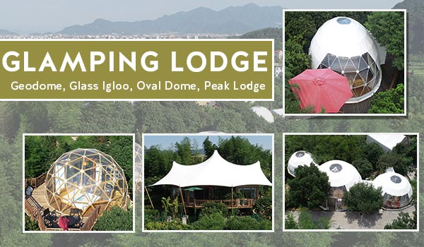 glamping tents hotel-luxury lodge tents-china manufacturer